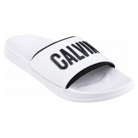 Calvin Klein SLIDE white - Men's slippers