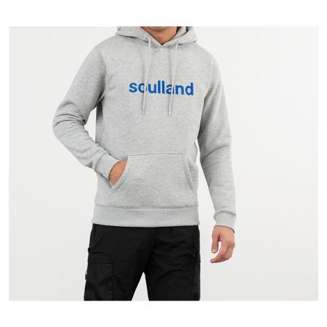 Grey men's sports pullover sweatshirts and hoodies
