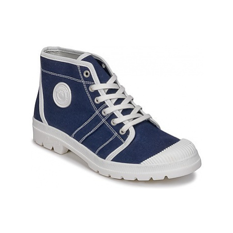 Pataugas AUTHENTIC-T-NAVY women's Shoes (High-top Trainers) in Blue