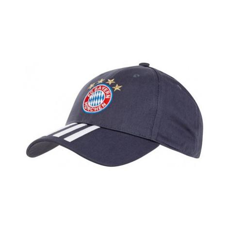 FC Bayern 3 Stripe Cap - Blue Adidas
