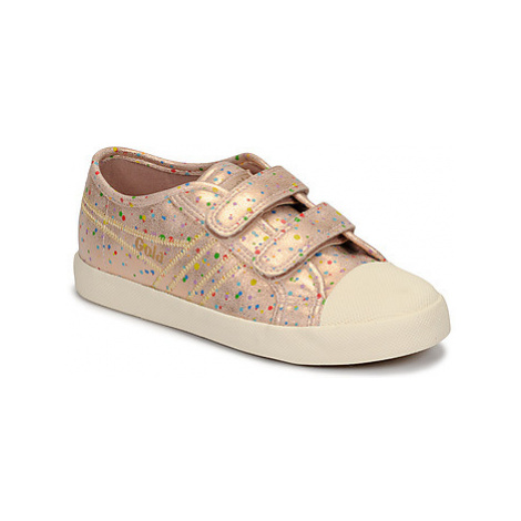 Gola COASTER SHIMMER DOT girls's Children's Shoes (Trainers) in Pink