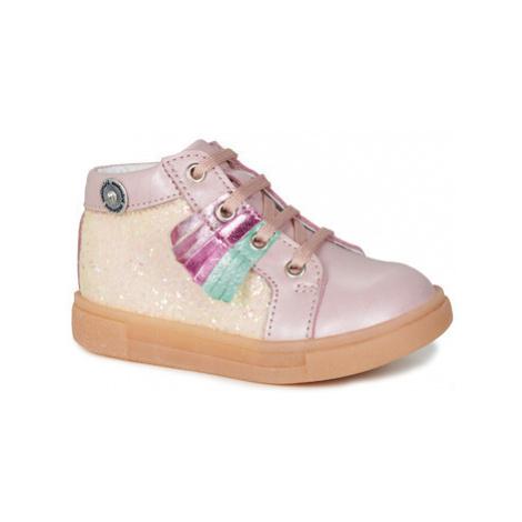 Catimini BRITA girls's Children's Shoes (High-top Trainers) in Pink