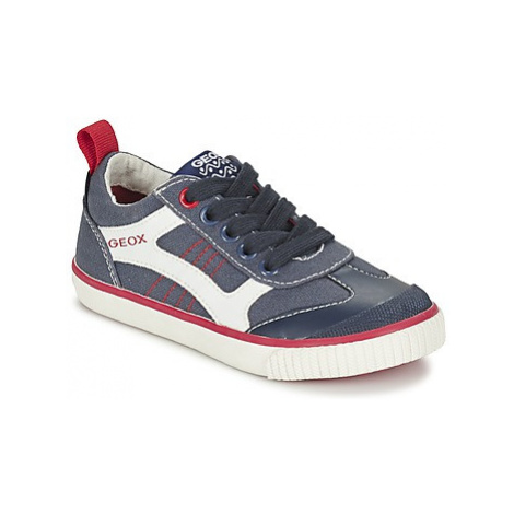 Geox J KIWI B. J boys's Children's Shoes (Trainers) in Blue