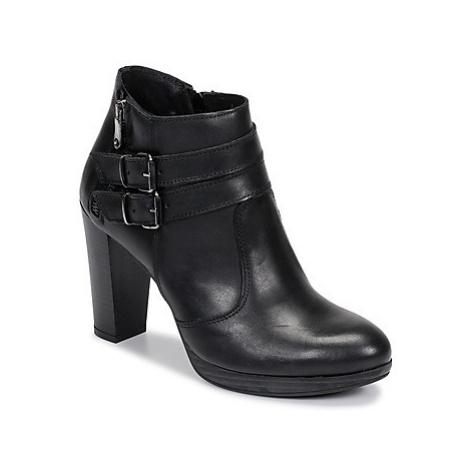 Sweet Lemon RACEKI women's Low Ankle Boots in Black