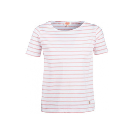 Armor Lux YAYARINX women's T shirt in White
