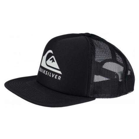 Quiksilver FOAMSLAYER black - Men's trucker hat