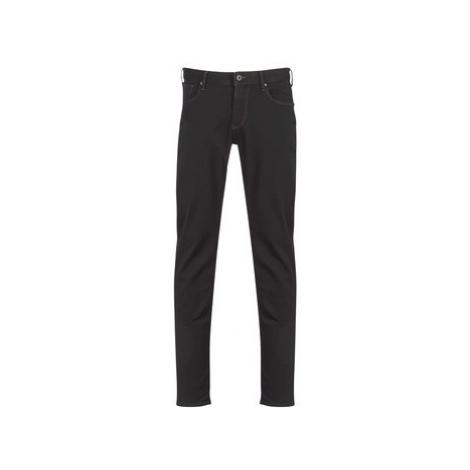 Emporio Armani TERENCE men's Skinny Jeans in Black