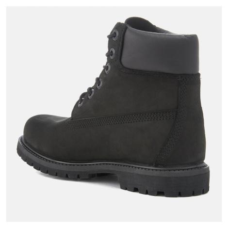 Timberland Women's 6 Inch Nubuck Premium Boots - Black - UK