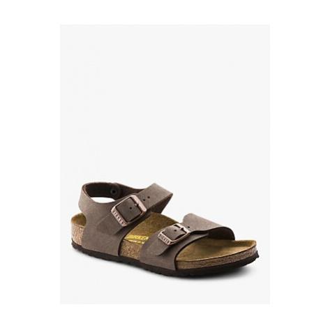 Birkenstock Children's Nubuck Sandals, Mocha