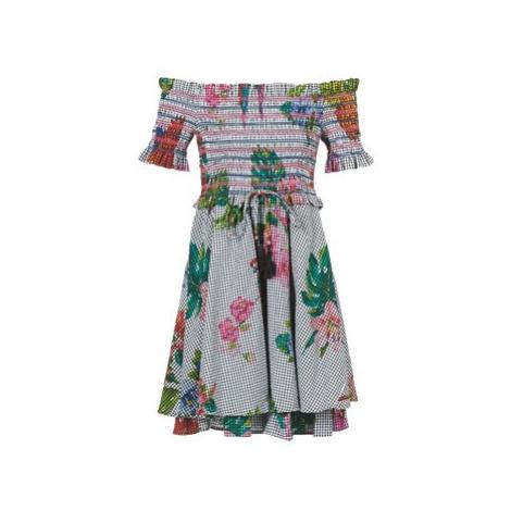 Derhy AIRAIN women's Dress in Multicolour