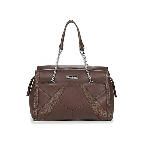 Les Tropéziennes par M Belarbi ANAPURA 03 women's Handbags in Brown