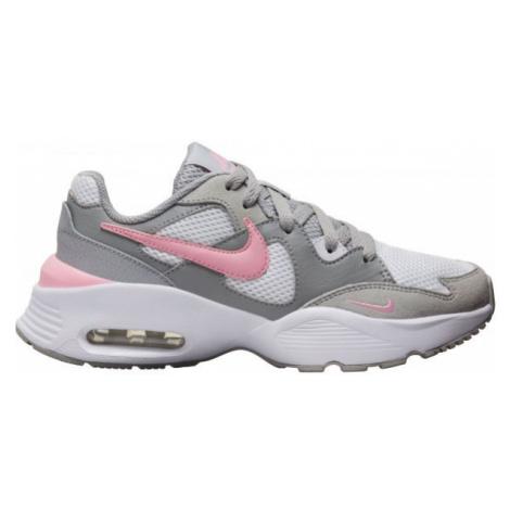 Nike AIR MAX FUSION GS gray - Kid's leisure footwear