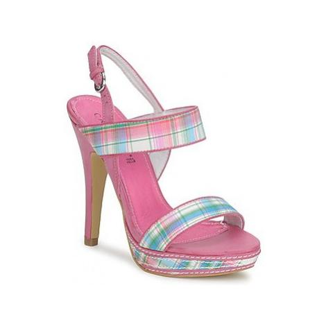 Café Noir ZIETCH women's Sandals in Pink