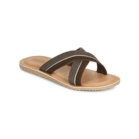 Geox U ARTIE men's Mules / Casual Shoes in Brown