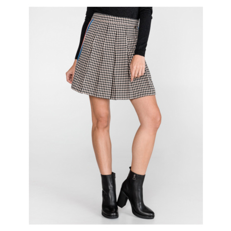 TWINSET Skirt Black Brown