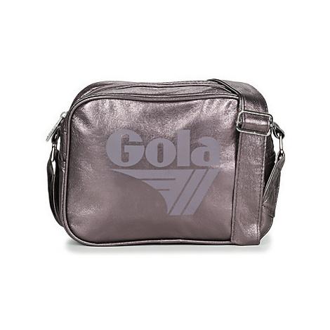 Gola MICRO REDFORD FRAGMENT women's Messenger bag in Silver