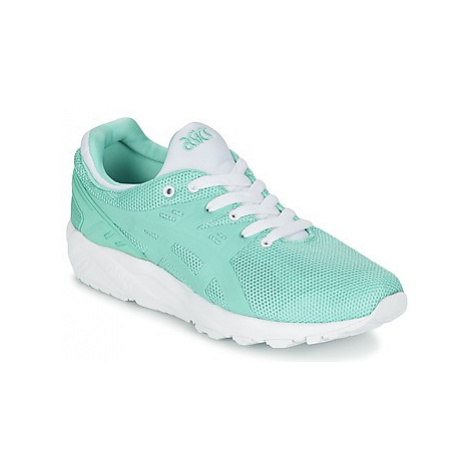 Asics GEL-KAYANO TRAINER EVO women's Shoes (Trainers) in Green