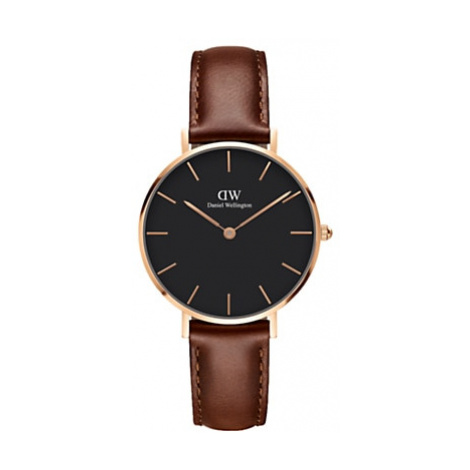 Daniel Wellington Women's 32mm Petite Leather Strap Watch