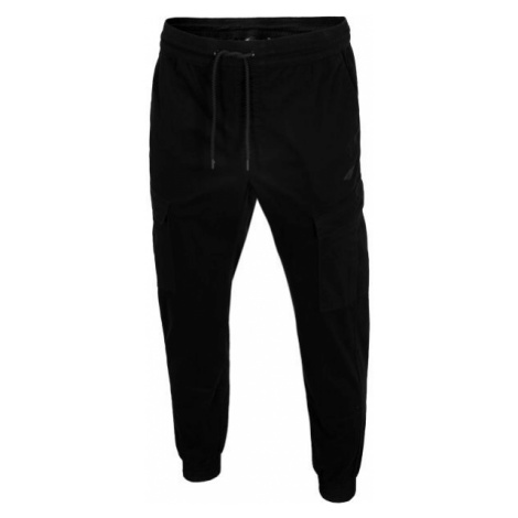4F TROUSERS black - Men's sweatpants