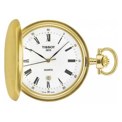 Unisex Tissot Savonette Full Hunter Pocket Watch