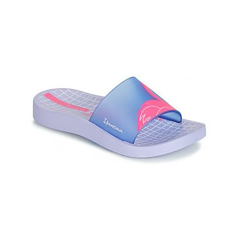 Ipanema URBAN SLIDE KIDS girls's Children's Mules / Casual Shoes in Purple