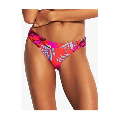 Seafolly On Vacation Floral Print Hipster Bikini Bottoms