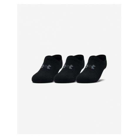 Under Armour Ultra Lo Set of 3 pairs of socks Black