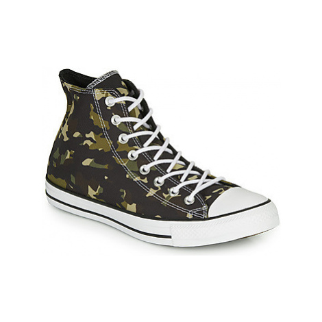 Converse CHUCK TAYLOR ALL STAR ALLOVER CAMO HI men's Shoes (High-top Trainers) in Green