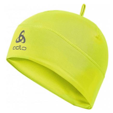 Odlo POLYKNIT WARM HAT JNR yellow - Kids' hat
