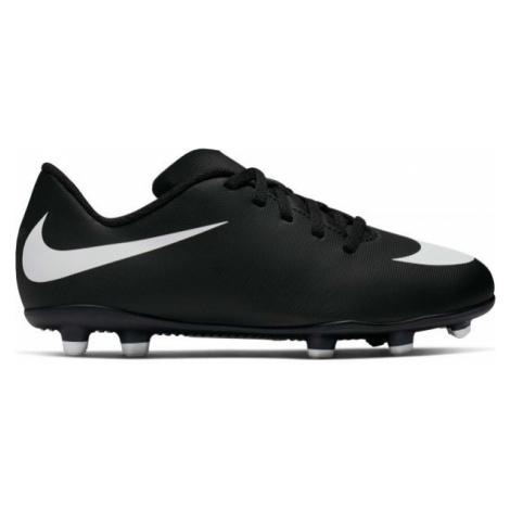 Nike BRAVATA II FG JR black - Kids' football cleats