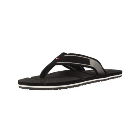 Tommy Hilfiger FM0FM01368 men's Flip flops / Sandals (Shoes) in Black