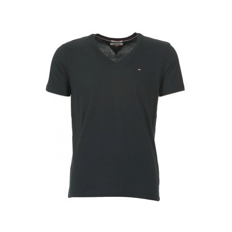 Tommy Jeans MALATO men's T shirt in Black Tommy Hilfiger