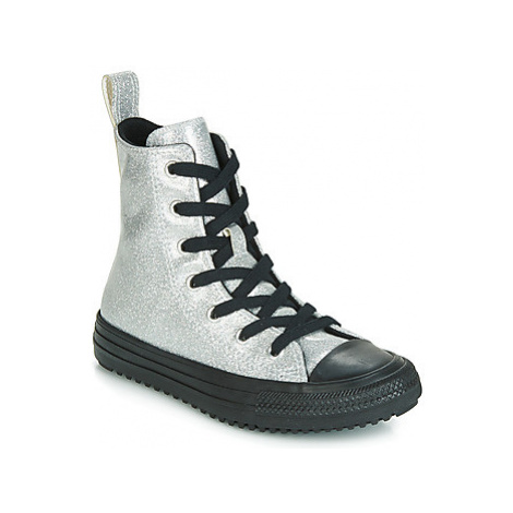 Converse CHUCK TAYLOR ALL STAR BOOT COATED GLITTER HI girls's Children's Shoes (High-top Trainer