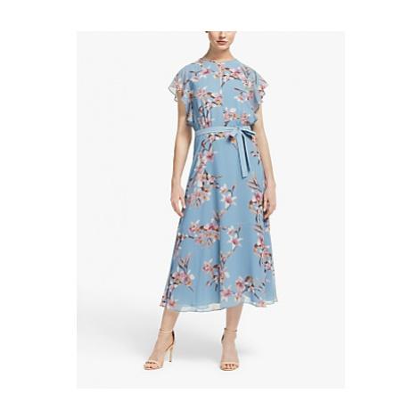 Marella Offerta Floral Dress, Light Blue