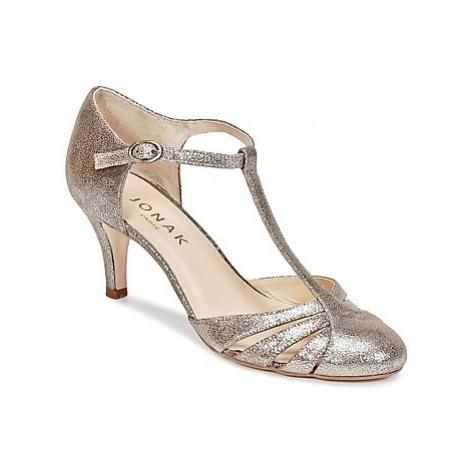 Jonak LAORA women's Court Shoes in Silver