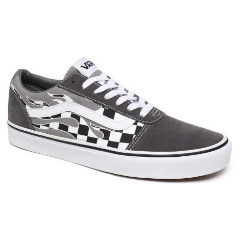 shoes Vans Ward - Flame Check/Pewter/White - men´s