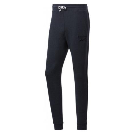 Reebok TE MELANGE PANT black - Men's pants