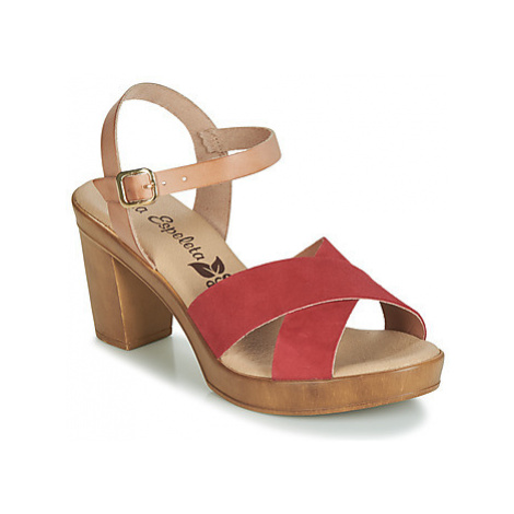 Lola Espeleta RICHELIN women's Sandals in Red
