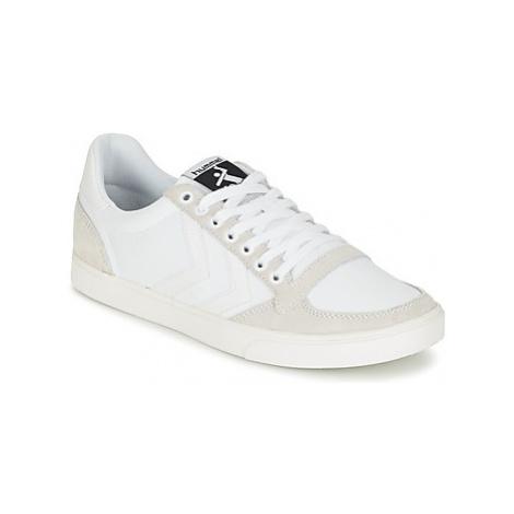 Hummel TEN STAR TONAL LOW women's Shoes (Trainers) in White