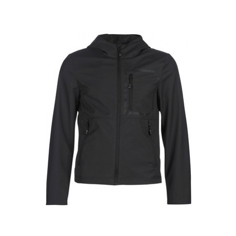Geox TIRPIRUTE men's Jacket in Black