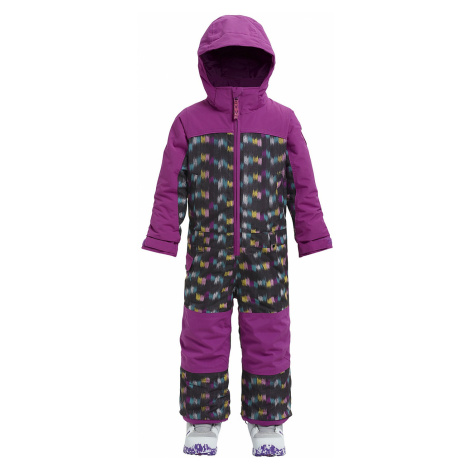 overall Burton Minishred Illusion One Piece - Eye Cat/Grapeseed - kid´s