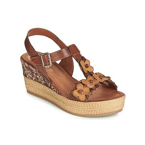 Samoa RITA women's Sandals in Brown