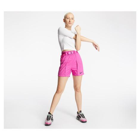 Nike Sportswear Swoosh Woven Shorts Active Fuchsia/ Black