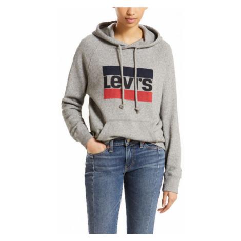 Levi's GRAPHIC SPORTHOODIE grey - Women's sweatshirt Levi´s