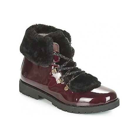 Citrouille et Compagnie JUTTER girls's Children's Mid Boots in Red