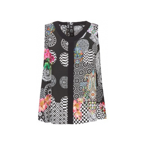 Desigual BADATO women's Vest top in Black