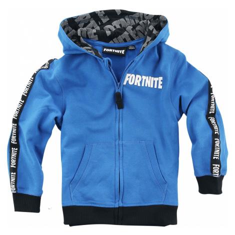 Fortnite - Logo - Kids hooded zip - blue