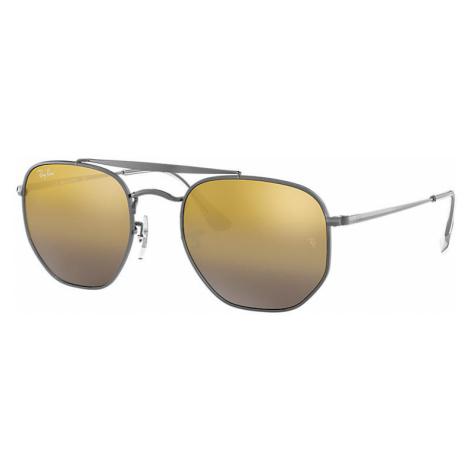 Ray-Ban Marshal Man Sunglasses Lenses: Brown, Frame: Gunmetal - RB3648 004/I3 54-21