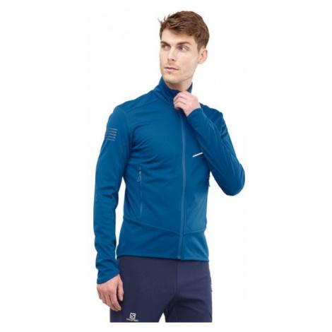 Salomon RS SOFTSHELL JKT M blue - Men's jacket