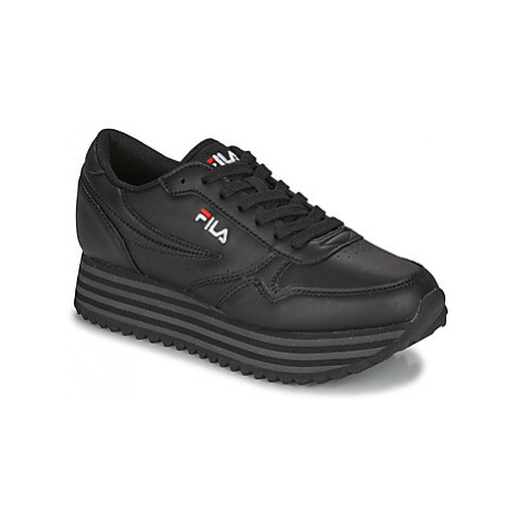 Fila ORBIT ZEPPA STRIPE WMN women's Shoes (Trainers) in Black
